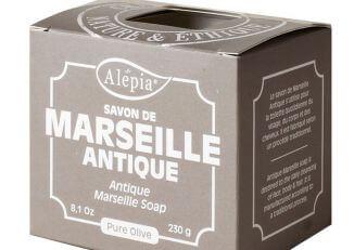 ALEPIA Mydło Marsylskie 100% Oliwkowe (bez oleju palmowego) 230g